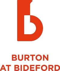 Burton at Bideford Portrait red 2