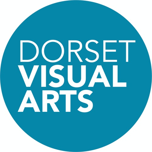 Dorset visual arts logo circle