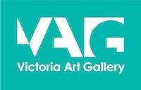 VAG logo white on green RGB