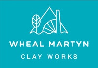 Wheal martyn logo WHITE ON BLUE