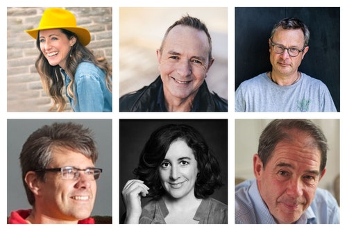 Exeter lit festival speakers collage 600x400