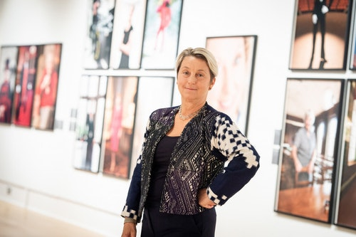 Exhibition Tour 100 First Women Portraits with artist Anita Corbin
