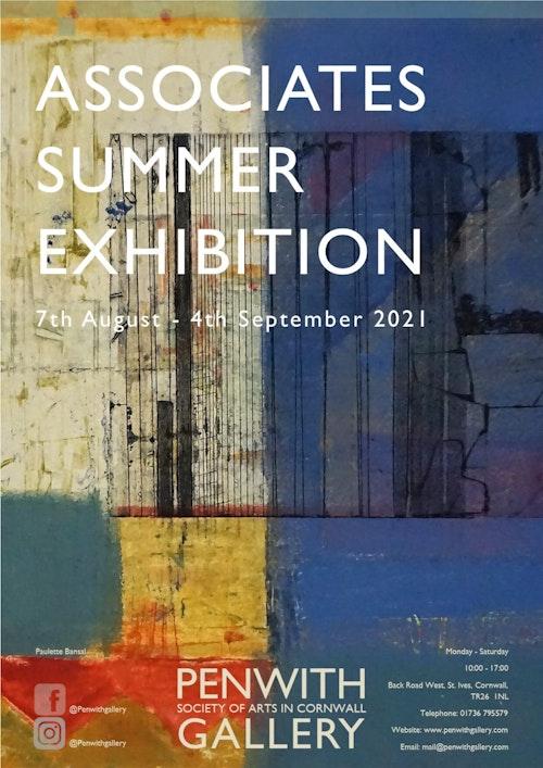 Associates Summer Show 2021 2 poster FINAL