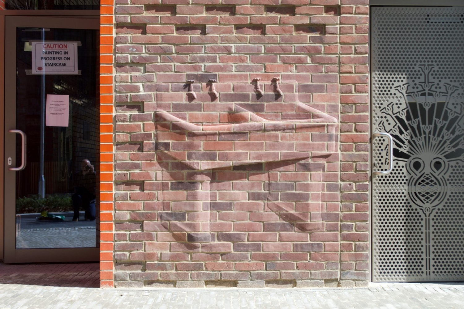 Rodney Harris Sink 2017 Brick Peabody St Johns Hill London scaled 1800x1200 c center