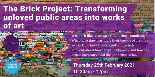Brick Project Eventbrite Banner