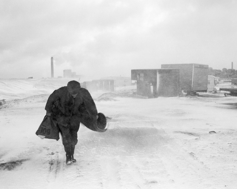 Chris Killip Cookie In The Snow