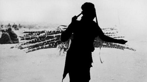 East African Woman Carrying Cane Sarah Waiswa