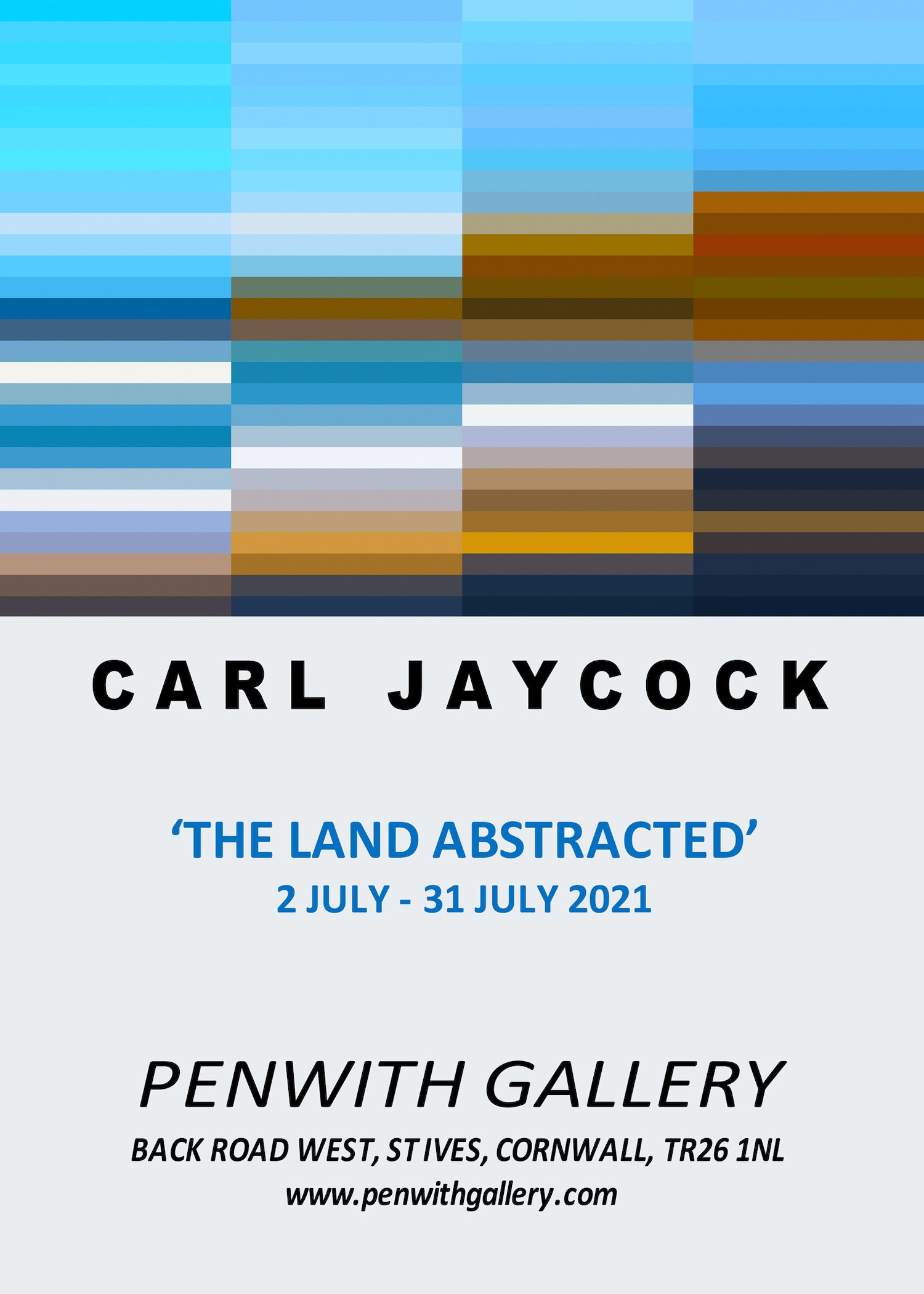 CARL JAYCOCK exhi POSTER PENWITH GALLERY