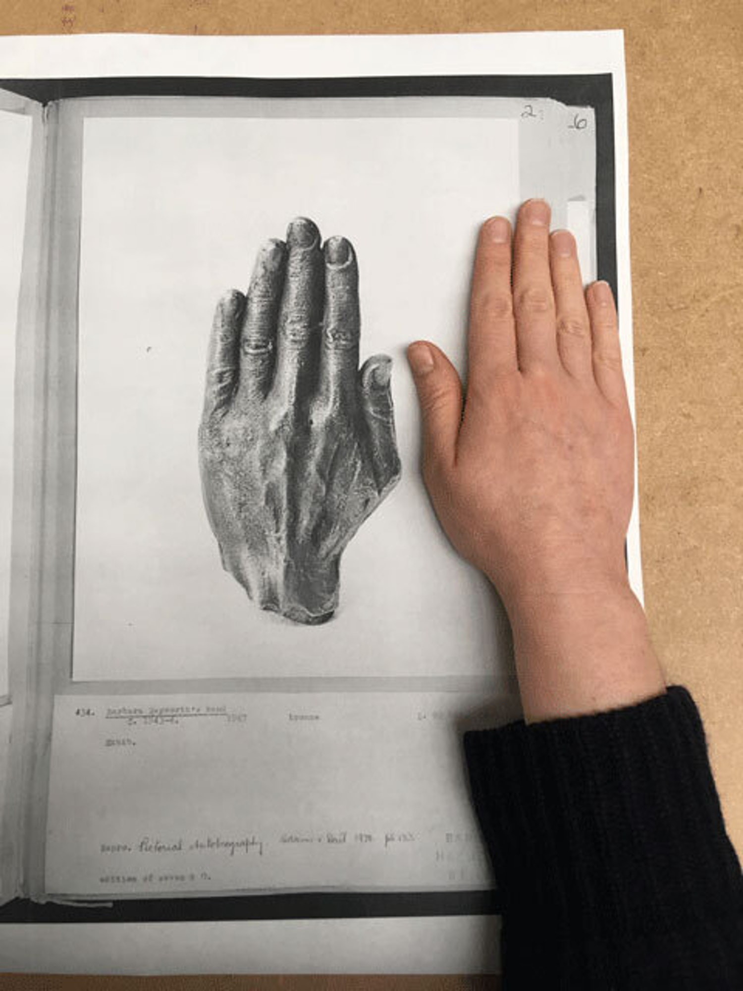 Image Hands web
