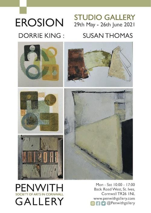 FINAL Dorrie King Susan Thomas EROSION A3 Poster