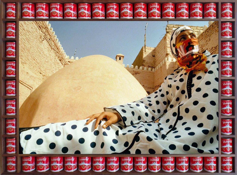 Hassan Hajjaj Dotted Peace 2000 smaller 2