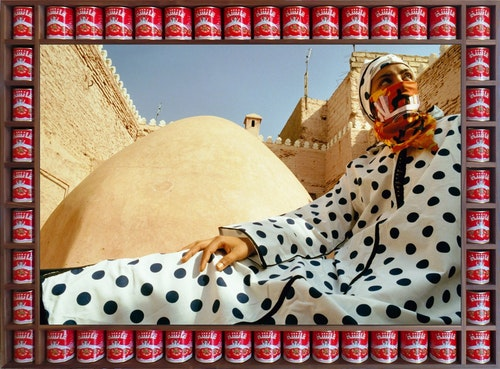 Hassan Hajjaj Dotted Peace 2000 smaller 2