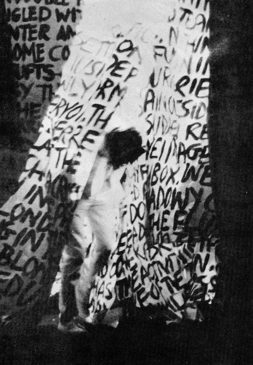 Ian Breakwell Mike Leggett Unword 1970 2003 black white video still courtesy of Anthony Reynolds Gallery 768x1107 2
