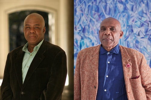 Eddie Chambers Denzil Forrester photograph by Lisa Whiting web 1800x1200 c center