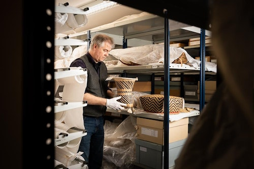Inside the Museum Curator Tony Eccles in the RAMM Ethnography Stores