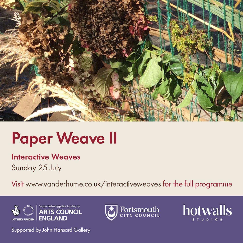 July Paper Weave 2