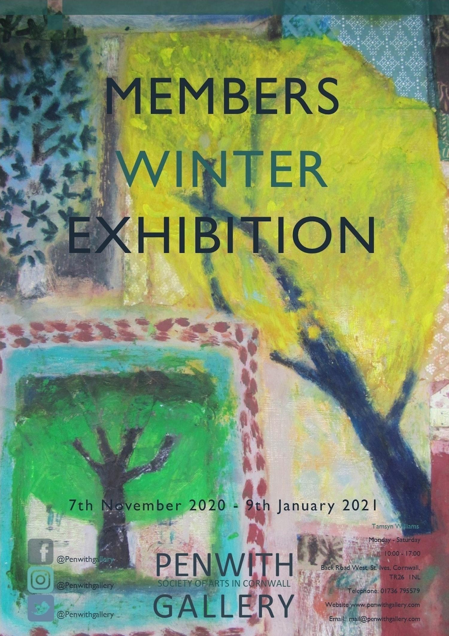 Members Winter Show 2020 5 poster FINAL