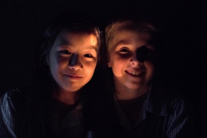 Night of light and sound