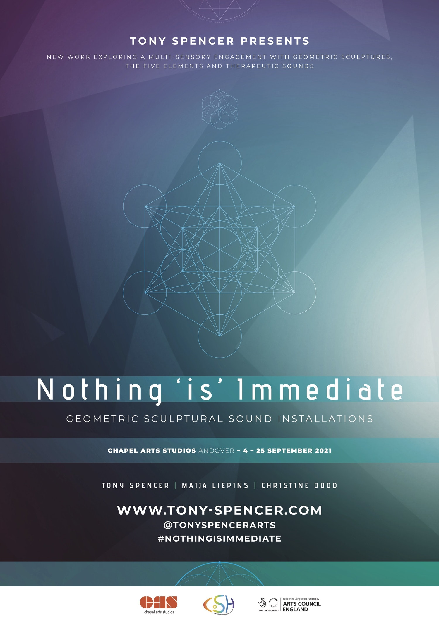 Nothing is Immediate A1 Poster 2 CAS