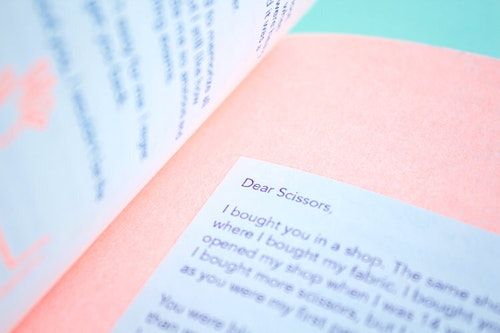Zine Editorial Design Risograph Printing
