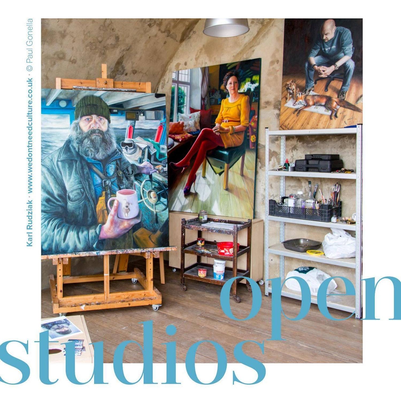 Open Studios graphic
