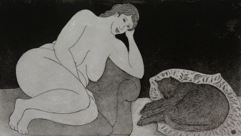 Julia Finzel Bliss etching