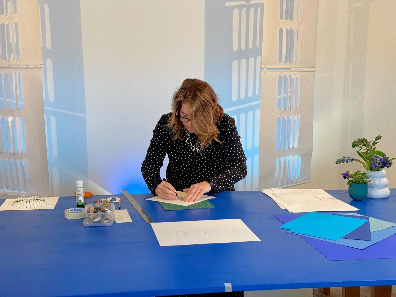 Laura Drayson Paper Cut workshop