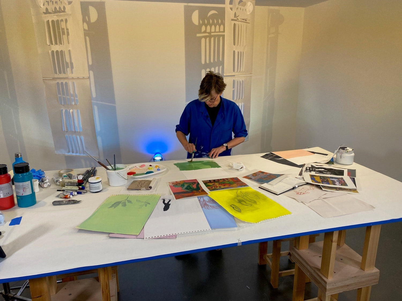 Naomi Offset Drawing workshop