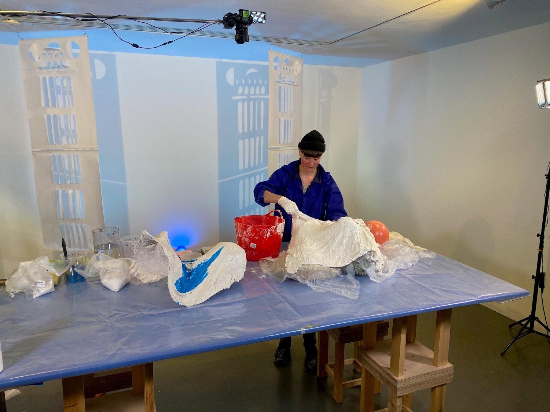 Rosanne Robertson Sculpting with Plaster POC wshop