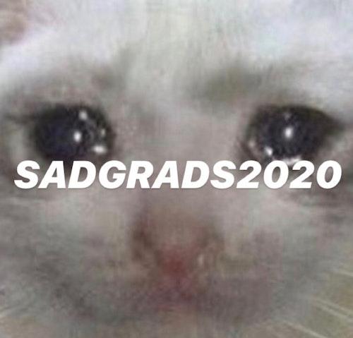 SADGRADS2020 logo
