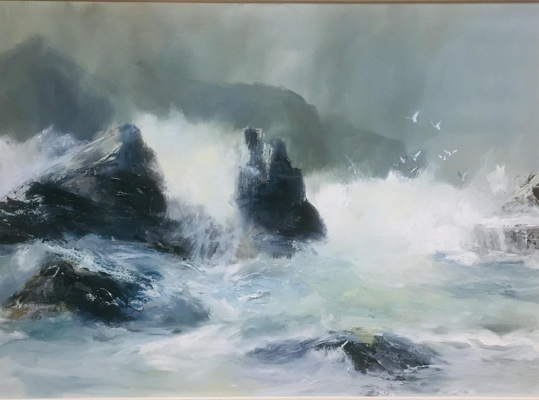 Storm at Horseshoe Rock