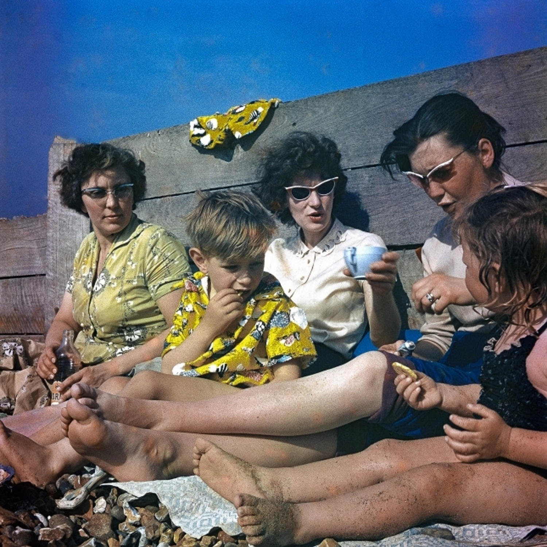 Down to the Beach Photographer Raymond C Lawson Loaned by Nicholas D Cordes Copy