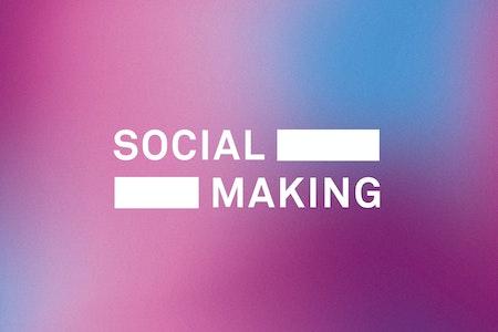 Social making large desktop logo