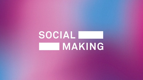 Social making large desktop logo