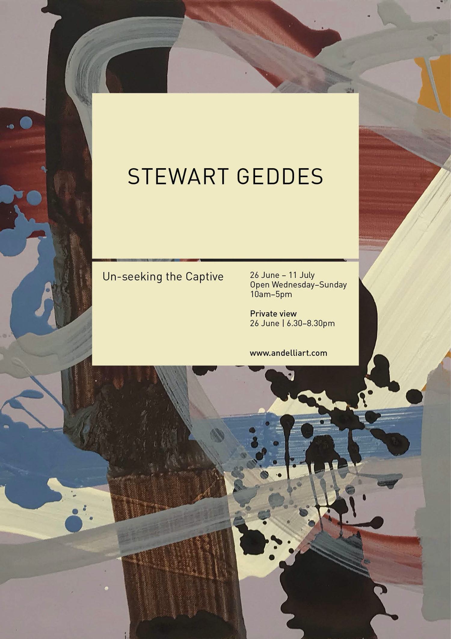 Stewart geddes save the date 2