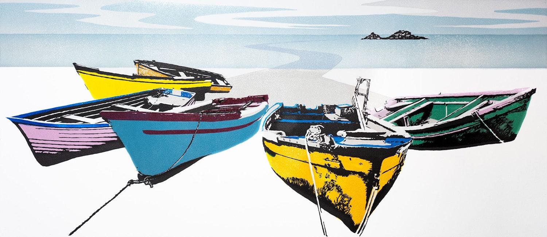 Ian cox cove boats cape cornwall