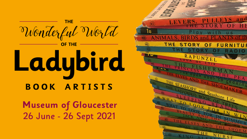 City 1326 Ladybird Books Museum Exhibition Twitter 2