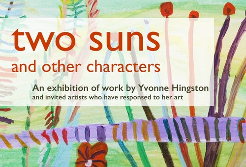 Two Suns exhibition poster for website