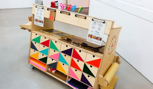 Art Cart photo