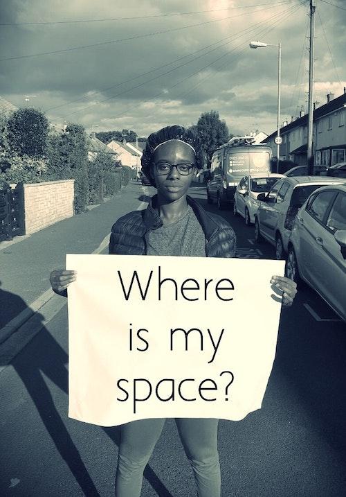 Wheres My Space artwork original